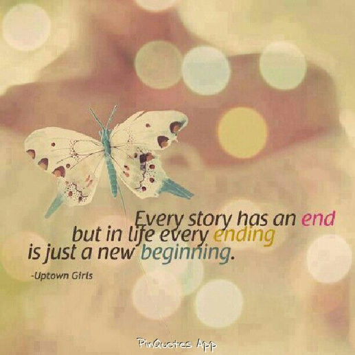 end new beginning